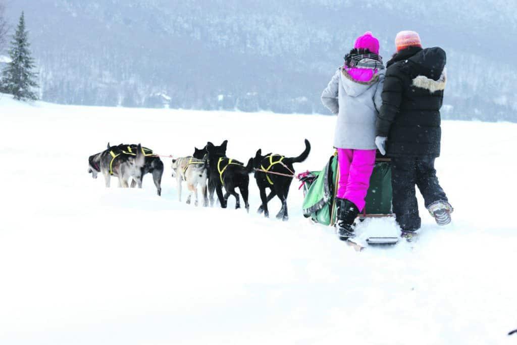 L'hiver, on joue dehors à St-Donat