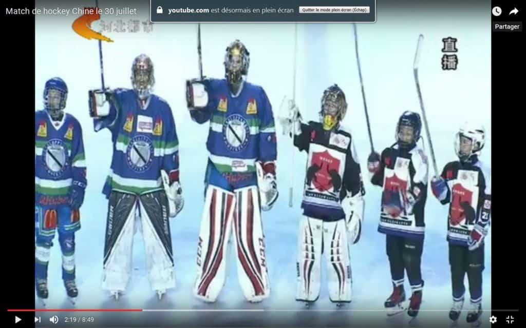 Les hockeyeurs agathois ont joué devant 120 millions de téléspectateurs!