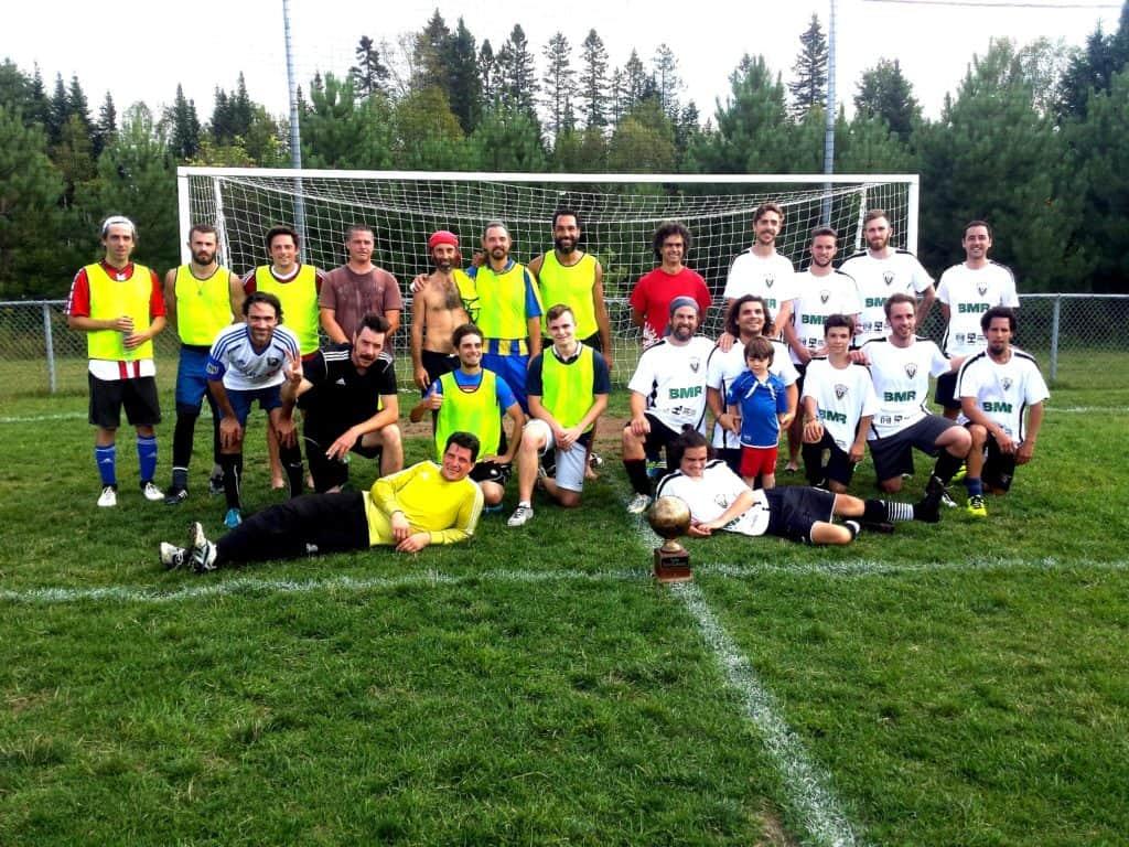 Le FC Valerius remporte la première édition à Val-David!
