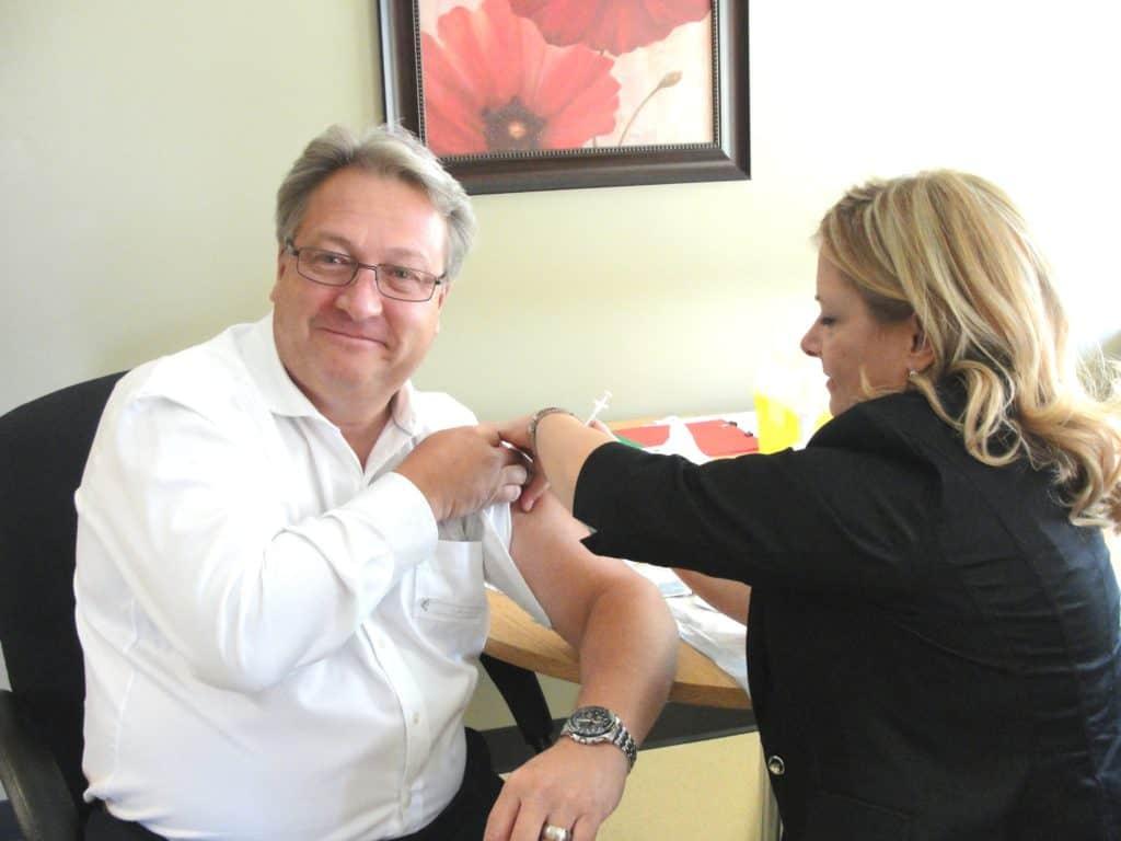 La campagne de vaccination contre la grippe débute le 1er novembre