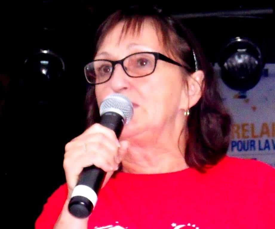 Michelle St-Louis de retour à la présidence du Relais pour la vie