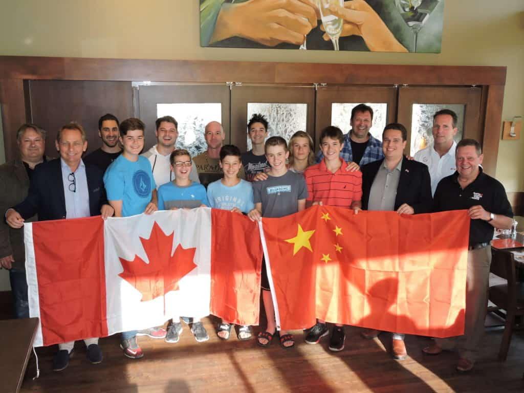 Des élèves-hockeyeurs de la PDM partent en mission