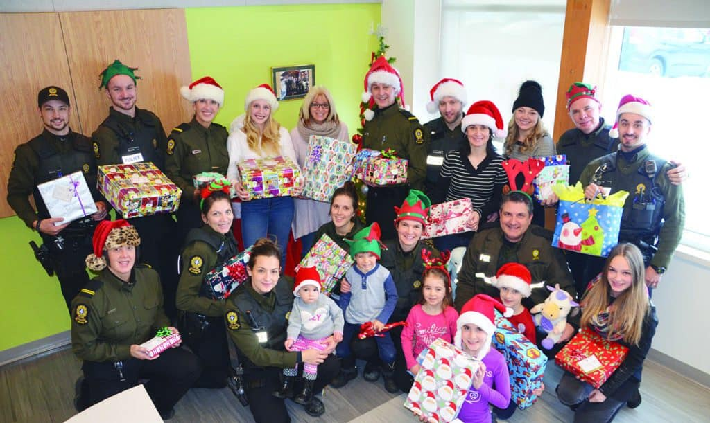 La SQ appelle à la générosité pour Noël