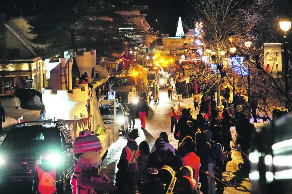 Défilé de Noël à Ste-Agathe le 23 novembre