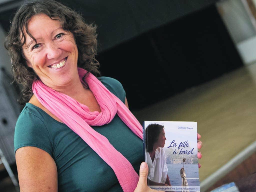 Nathalie Deraspe présente « La fille à bord »