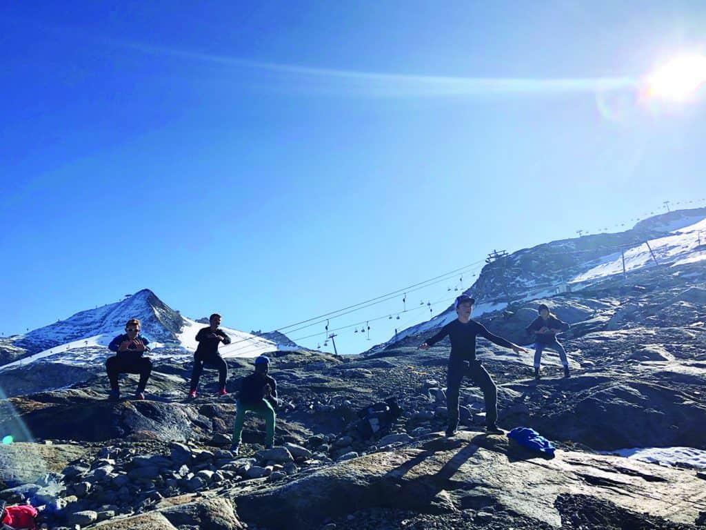 Un camp de ski en Autriche pour six jeunes d'ici