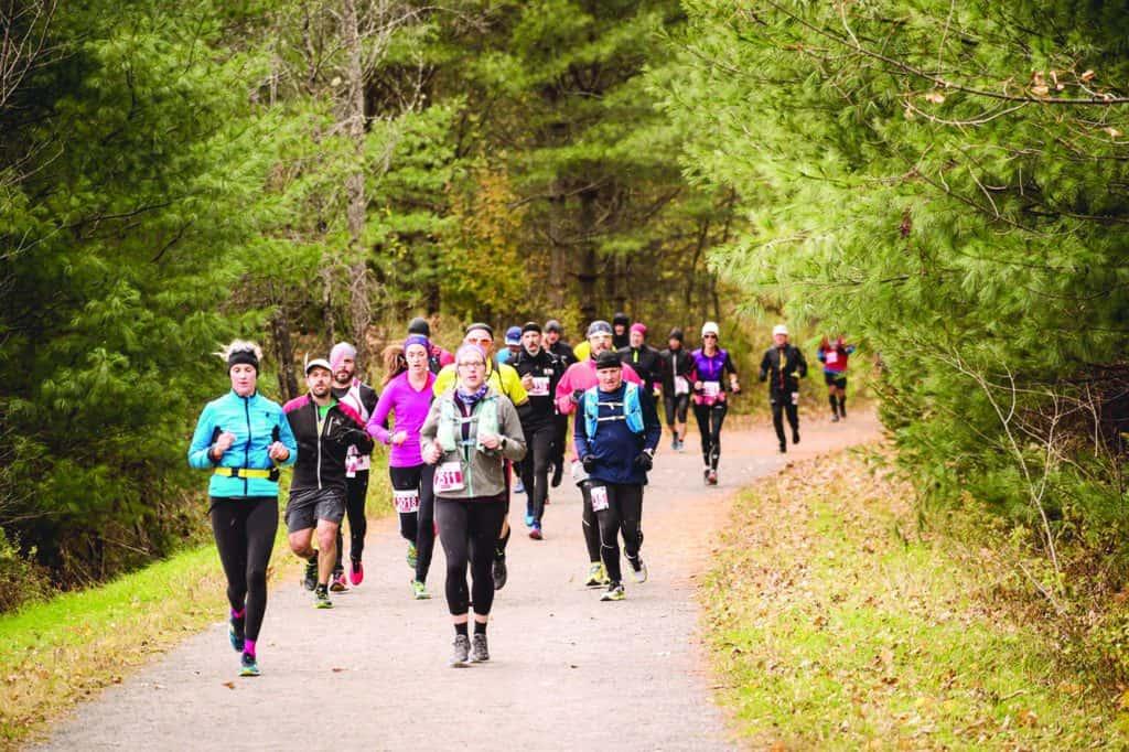 Le P'tit Train du Nord reçoit 2700 coureurs