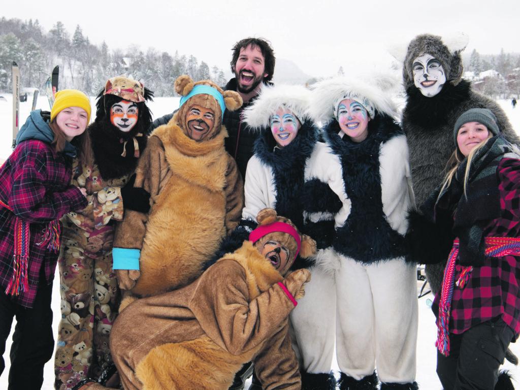La fête familiale sur le lac des Sables a été appréciée par petits et grands. Photo – André Chevrier