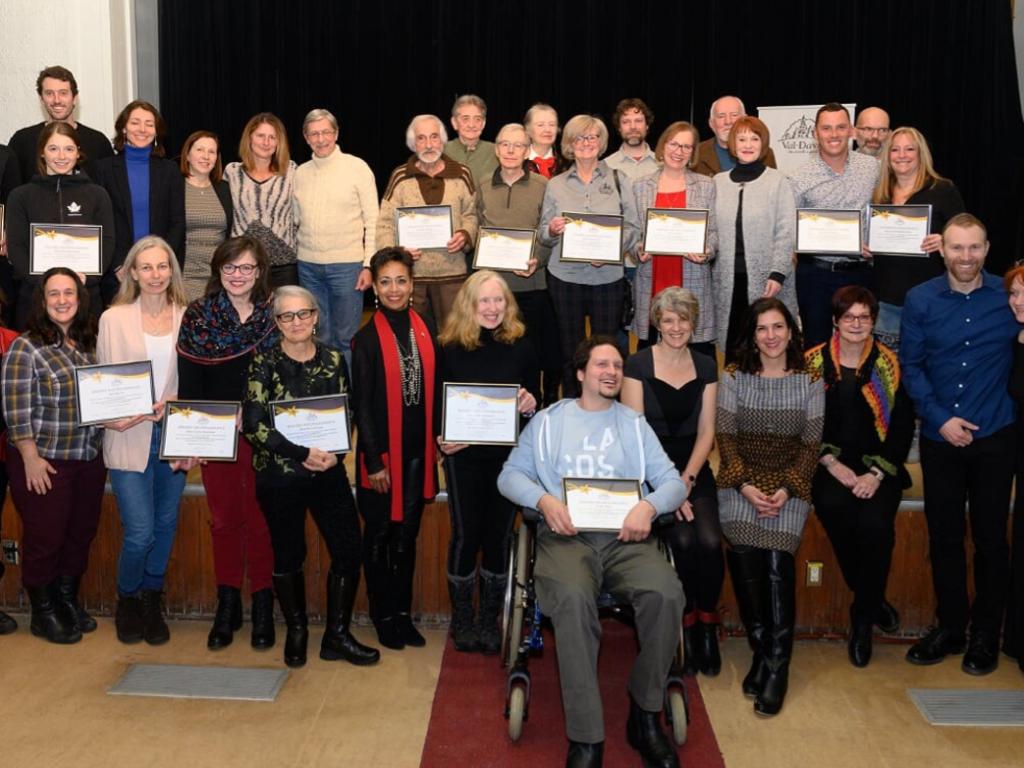 Val-David rend hommage à ceux qui font une différence