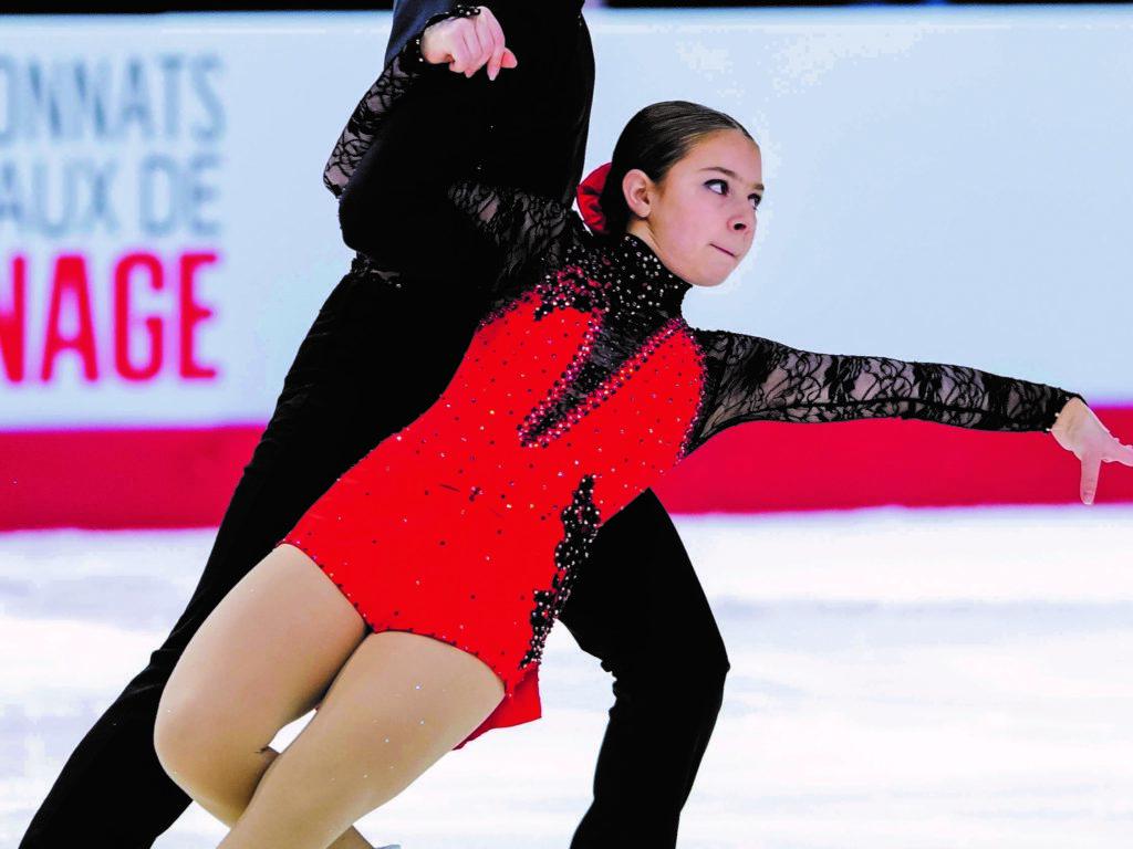 Une Agathoise 3e aux Championnats nationaux de patinage artistique