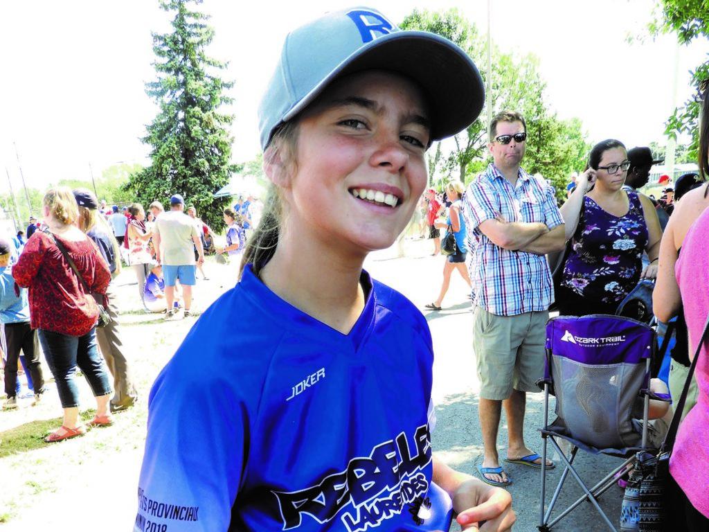 Florence Bryar sélectionnée dans l'équipe du Québec