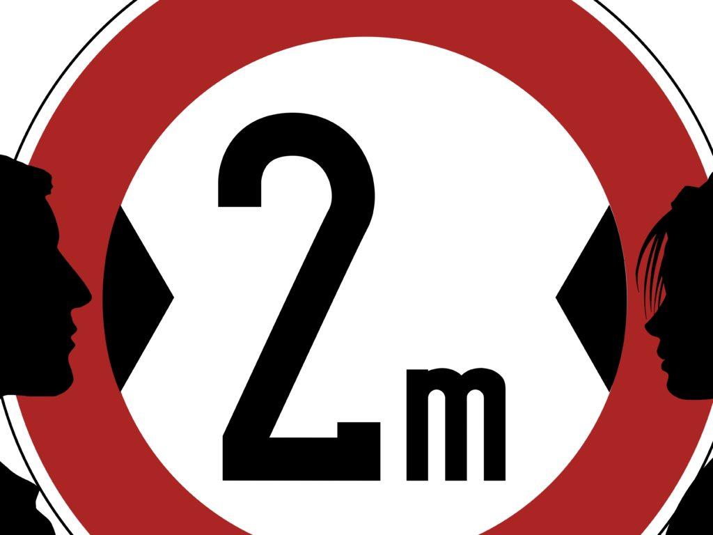 La consigne du «2 mètres» en vigueur pour des mois encore
