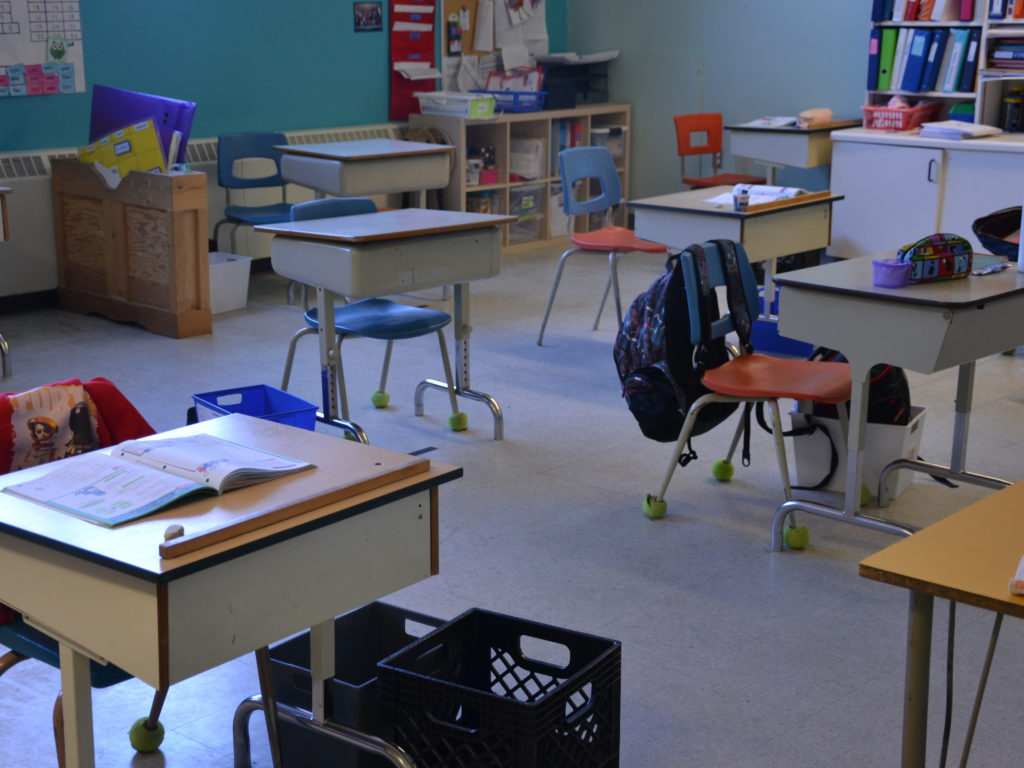 Le nouveau visage de l'école primaire Saint-Jean-Baptiste