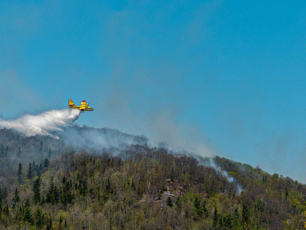 Quatre feux de forêt en quatre jours dans la région