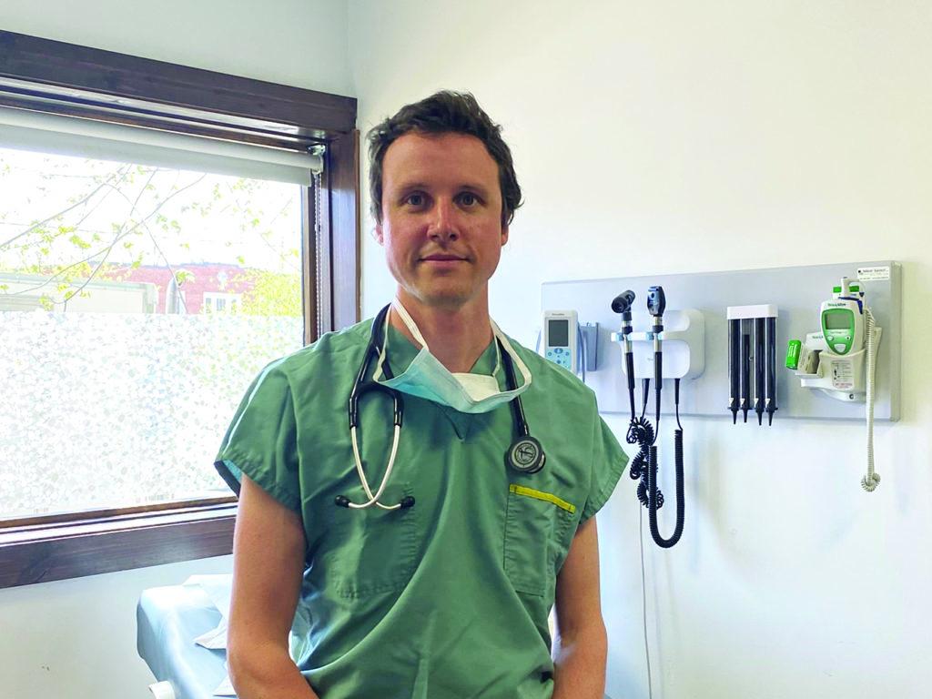 Le Dr Simon-Pierre Landry. (Photo gracieuseté)