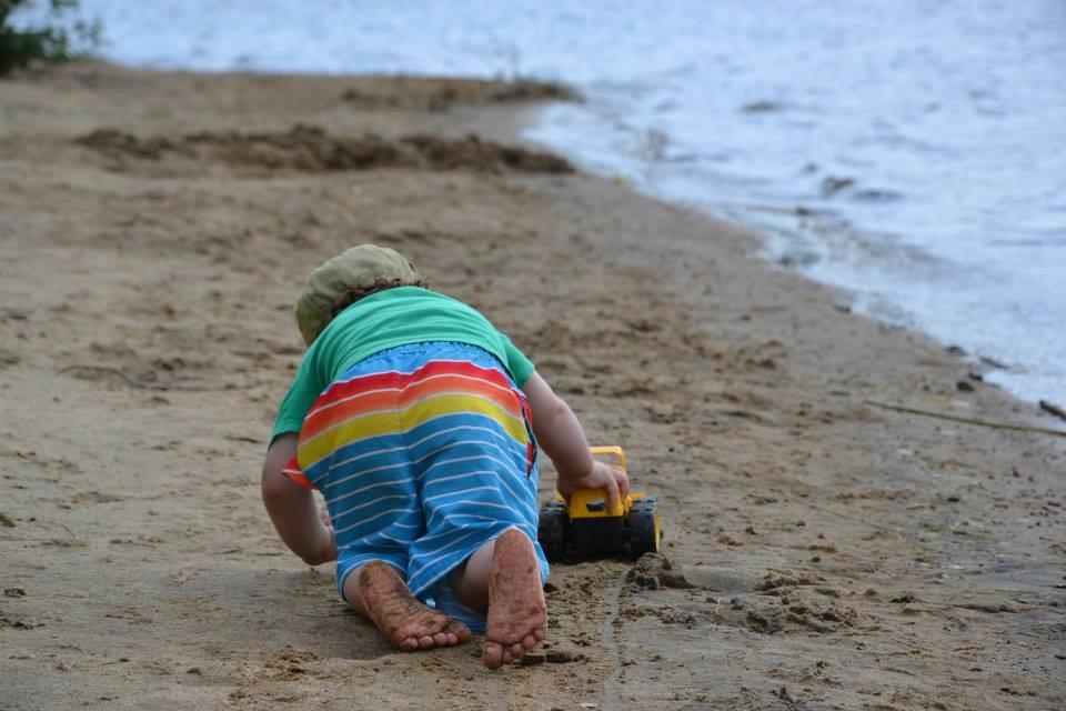Plusieurs règles sont mises en place pour vivre une belle expérience en famille à la plage. (Photo L'Info du Nord Archives)
