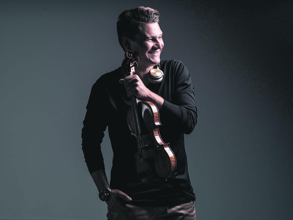 Stradivarius électrique avec Alexandre Da Costa