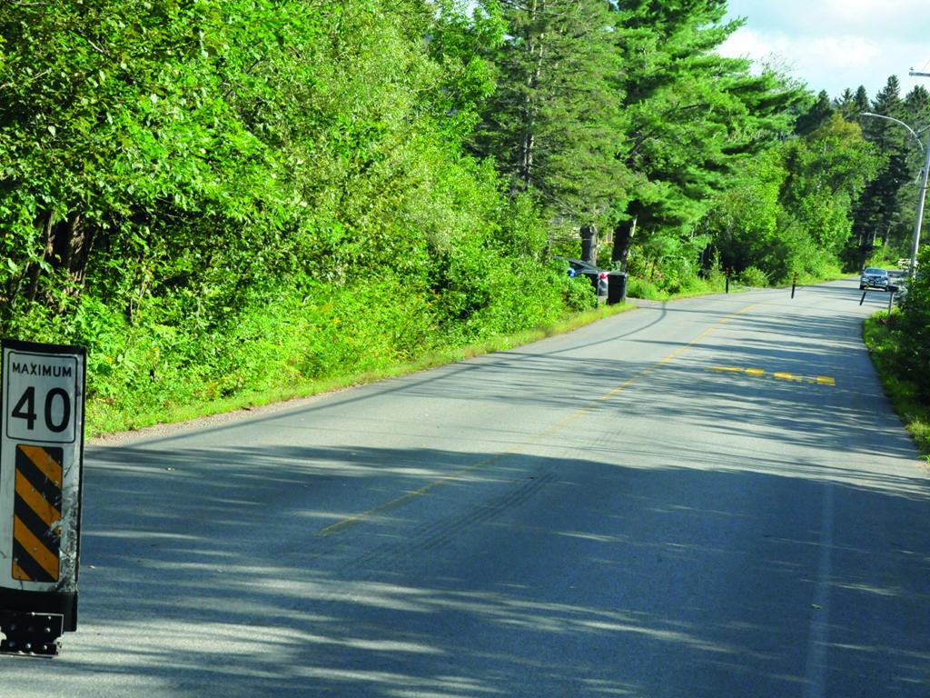 Val-Morin veut que ça roule moins vite sur son territoire