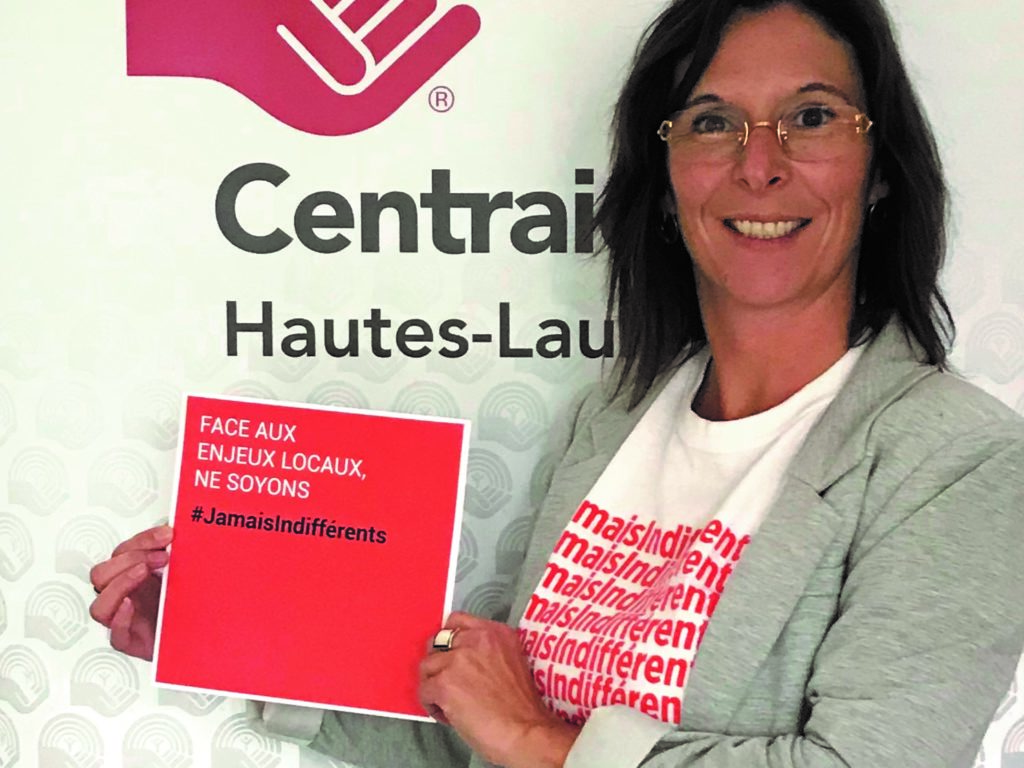 Laure Voilquin, directrice régionale pour Centraide Hautes-Laurentides. (Photo gracieuseté)