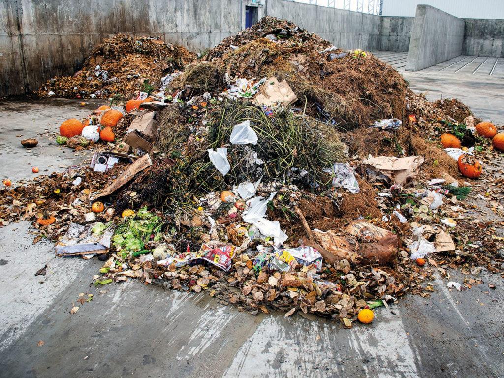 Deux ans et 2024 tonnes de matières organiques compostées