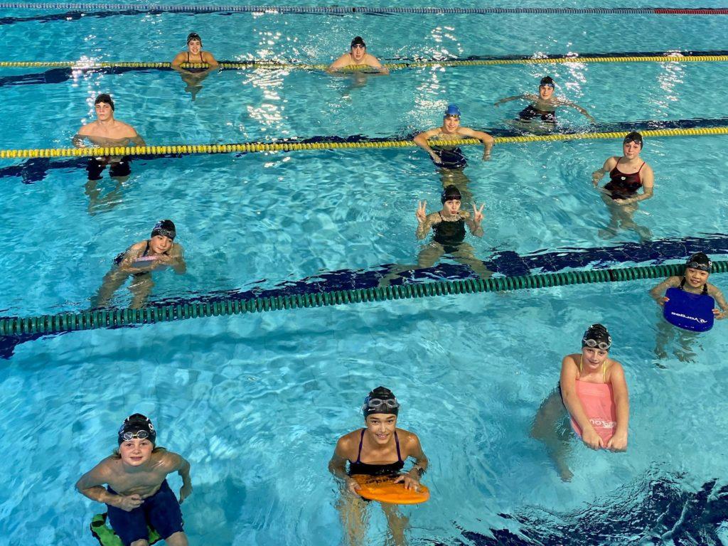 Une course et une collecte pour le Club de natation Mont-Tremblant