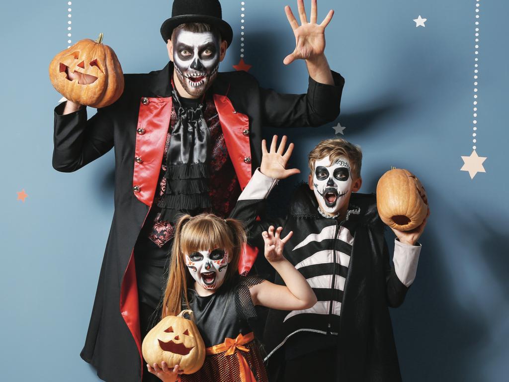 4 façons de célébrer l'Halloween en famille à la maison