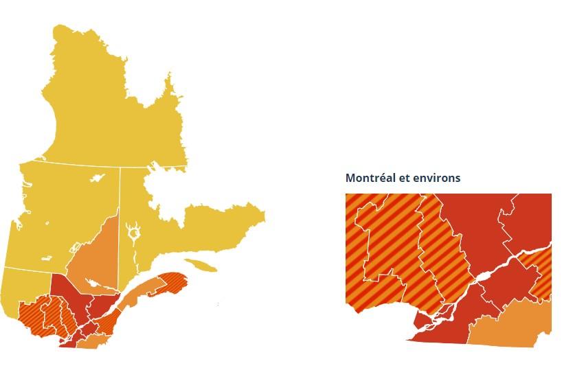 Zone rouge: les mesures prolongées d'un mois
