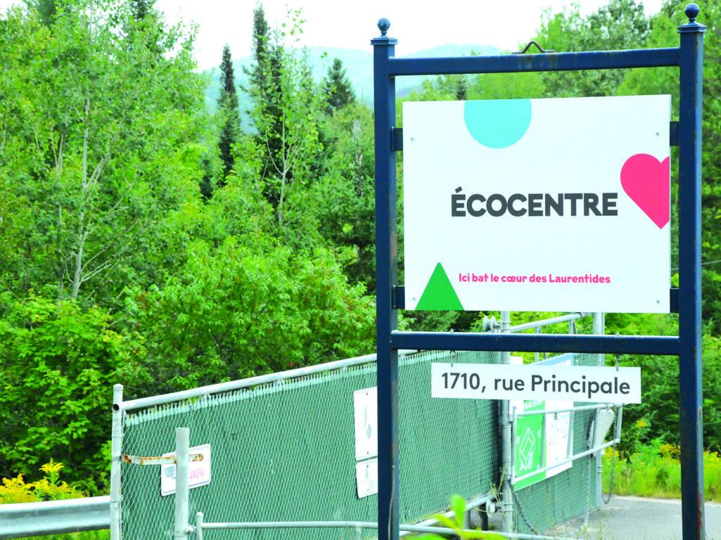 L'écocentre actuel de Ste-Agathe triplera sa superficie d'ici l'été 2021. (Photo L'info du Nord – Archives)