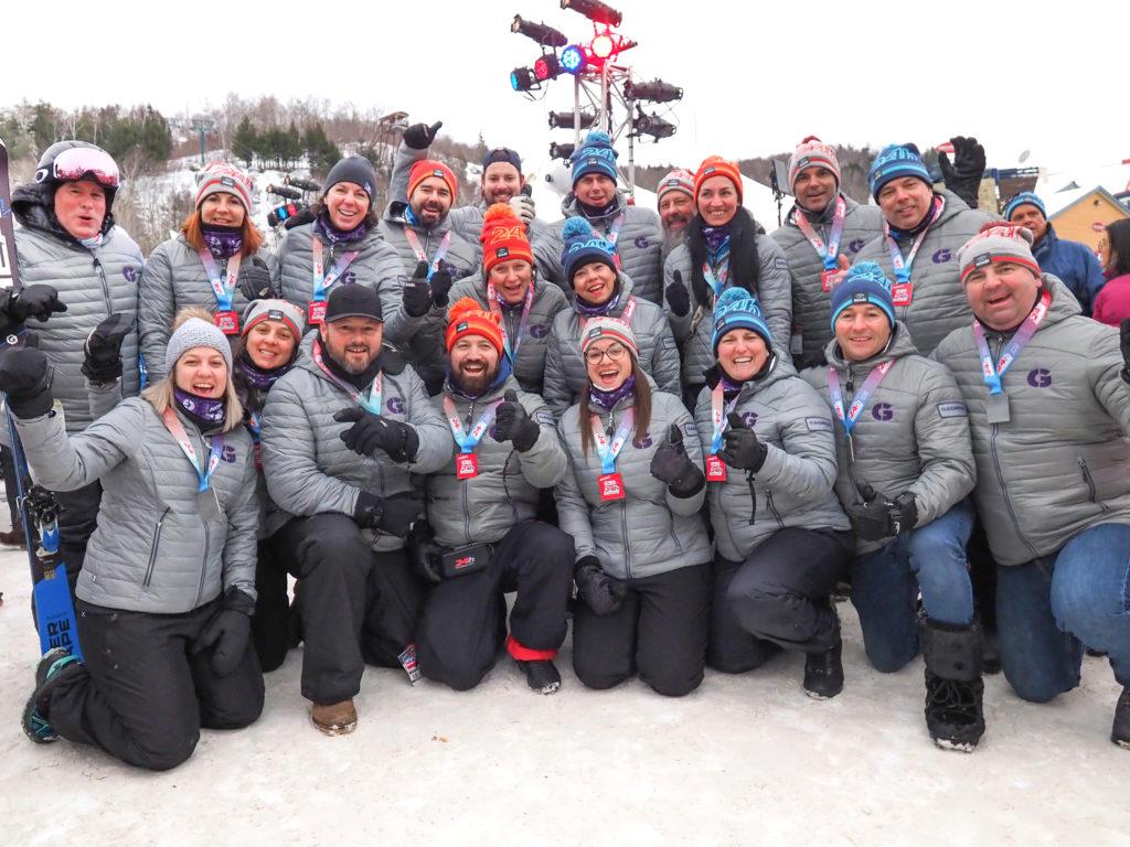 L'équipe Gagnon lors du 24h 2019 et ils remettent ça cet hiver malgré la pandémie. (Photo gracieuseté)