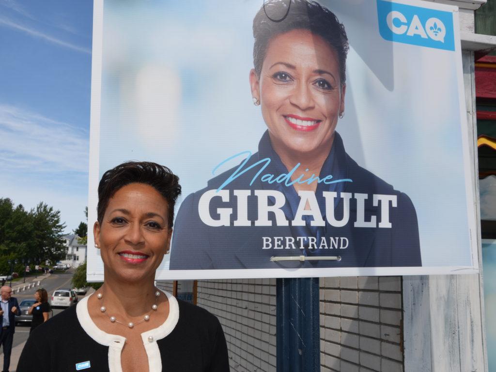 À mi-parcours de son mandat, Nadine Girault regarde vers l'avenir