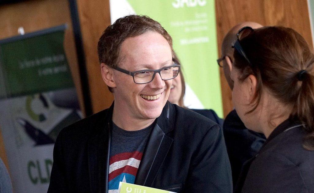 Marc-André Caron est le directeur du Pôle d'économie sociale des Laurentides. (Photo gracieuseté)