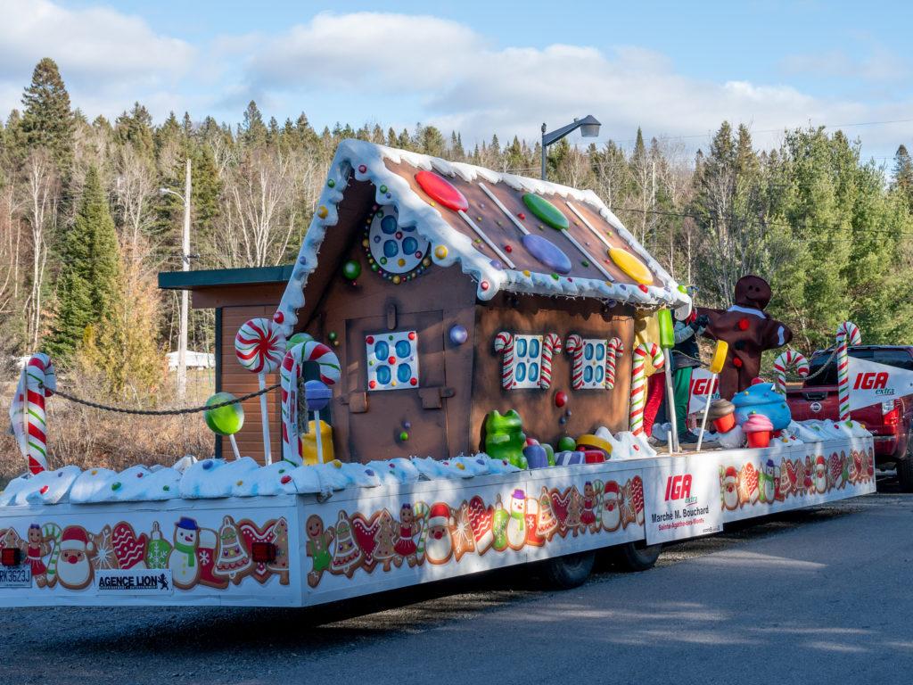 Un Défilé de Noël magique à Ste-Agathe