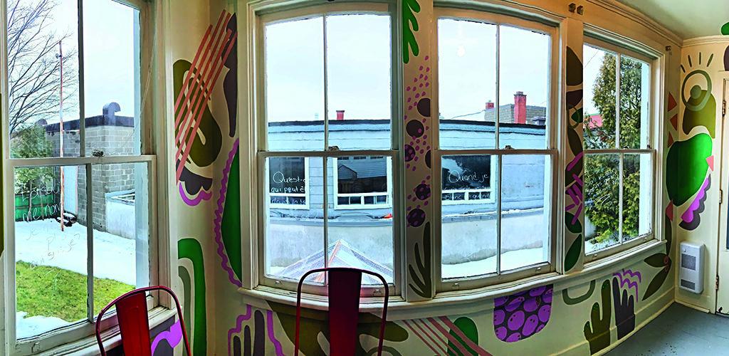 Une nouvelle pièce colorée par Funky Art Cartel au Centre de pédiatrie sociale