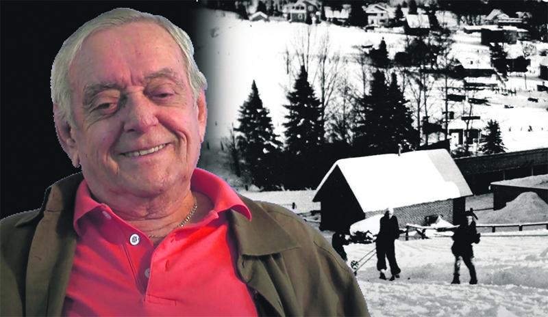 Feu Maurice Lortie raconte ses souvenirs de jeunesse concernant l'hiver.(Photo Capture d'écran – YouTube)