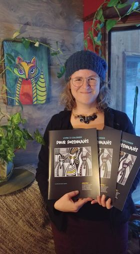 Un deuxième livre à colorier pour Nancy Martin