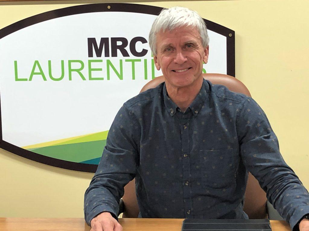 Marc L'Heureux reconduit comme préfet de la MRC des Laurentides