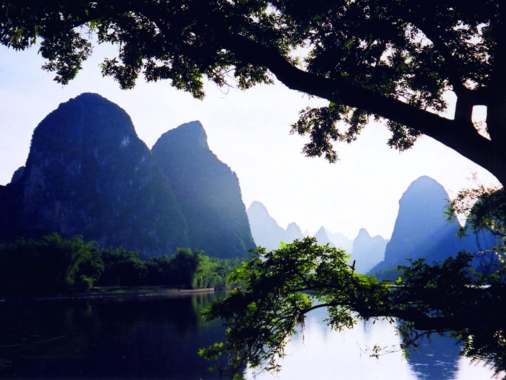 La Rivière Li en Chine. (Photo Gérard Coderre)