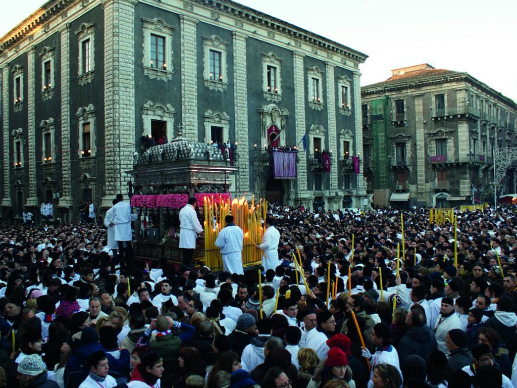La Fête de sainte Agathe en Sicile
