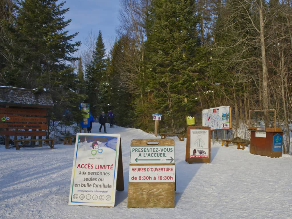 Limitation d'accès au Parc régional les fins de semaine