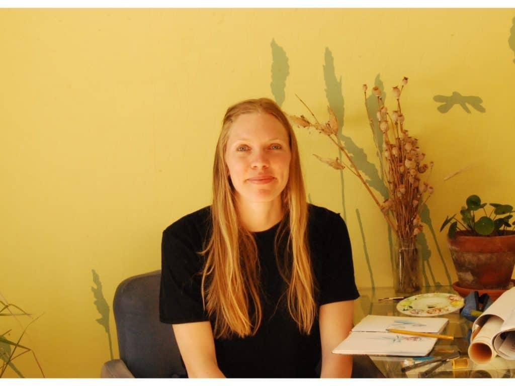 L'illustratrice Mélika Bazin a fait le saut il y a un an pour vivre de ses dessins. (Photo gracieuseté – Mélika Bazin)