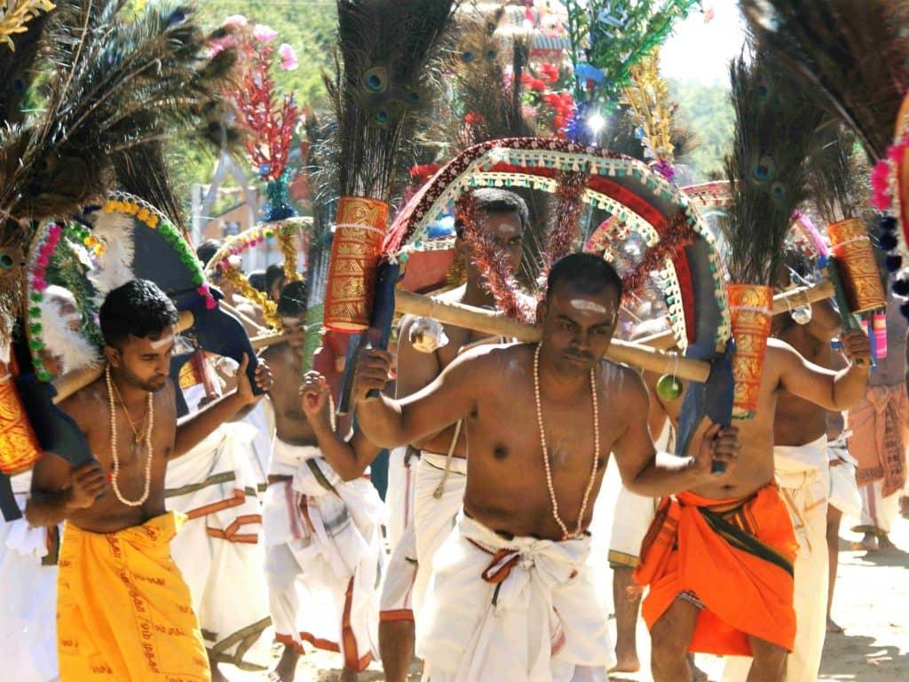 Le Thaipusam en Malaisie
