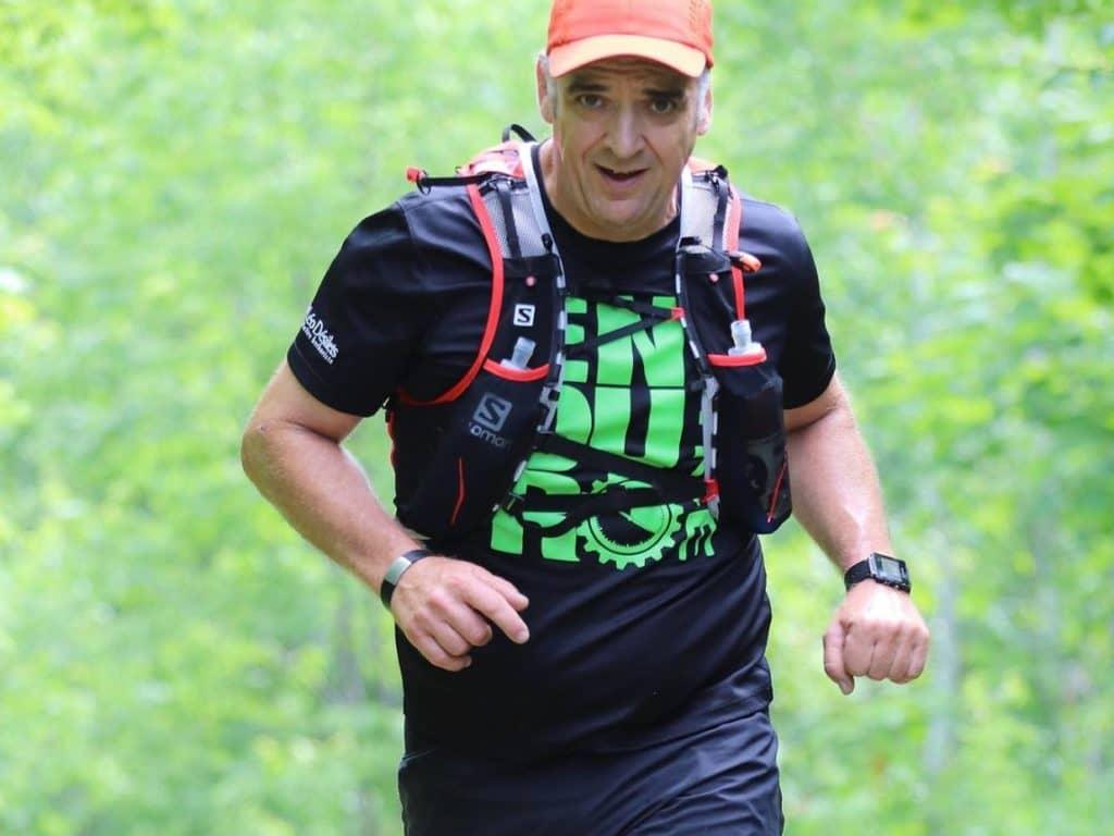 Après bien des courses prestigieuses, Jacques Aubin, de Val-David, s'attaquera cette année à l'Appalachian Trail, un parcours de 3200 km, qu'il fera sur 365 jours de façon virtuelle. (Photo gracieuseté)