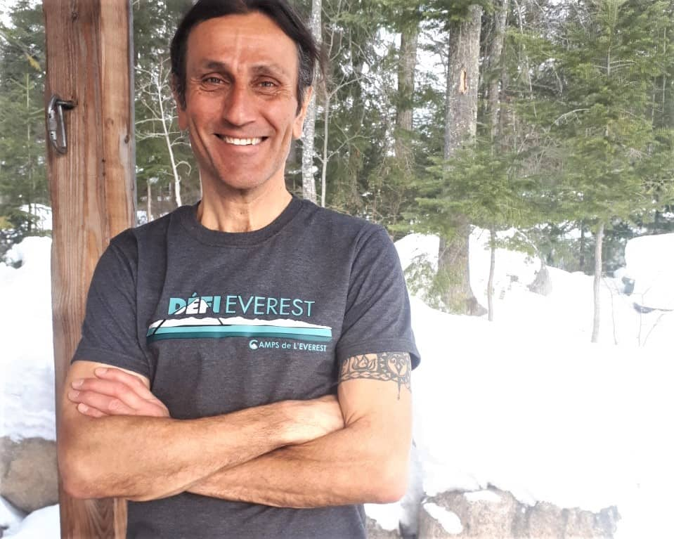 Laurent Homier, fier ambassadeur régional du Défi Everest