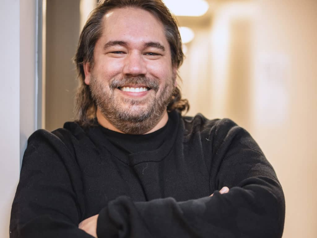 Dave Bow, PDG d'Origine Nature et membre fondateur du conseil d'administration de l'Association québécoise de l'industrie du cannabis (AQIC). (Photo gracieuseté)