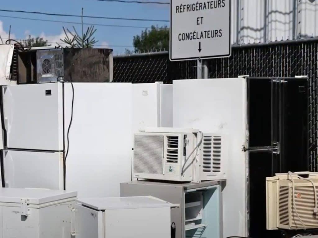 MRC des Laurentides: Recyclage optimal des appareils électroménagers dans les écocentres