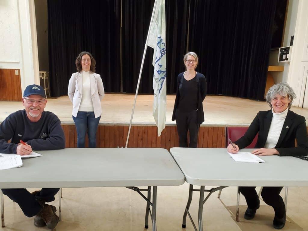Val-David: renouvellement de la convention collective des cols bleus