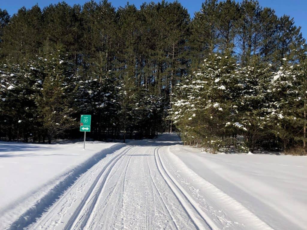 Un Marathon canadien de ski de fond à la maison