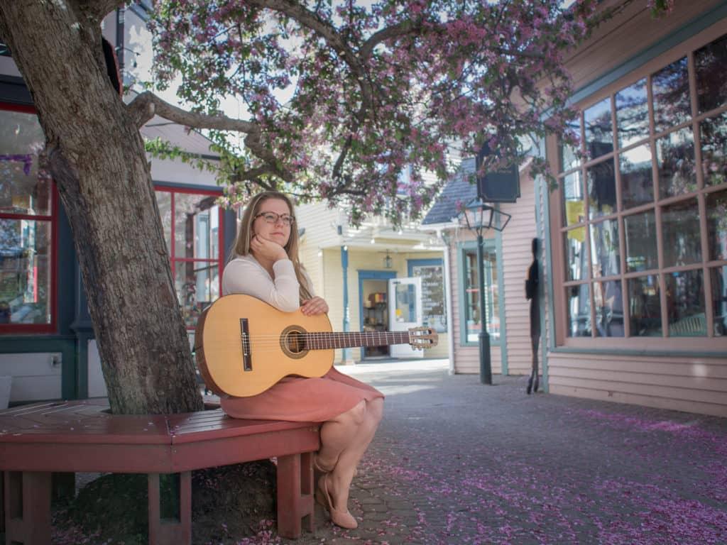 La musicienne Estelle Roy lançait en février dernier son album Première escale. (Photo gracieuseté – Anabel B. Boivin)