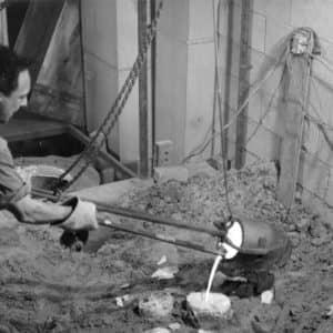 Bernard Chaudron en 1967. (Photo gracieuseté – Atelier Bernard Chaudron)