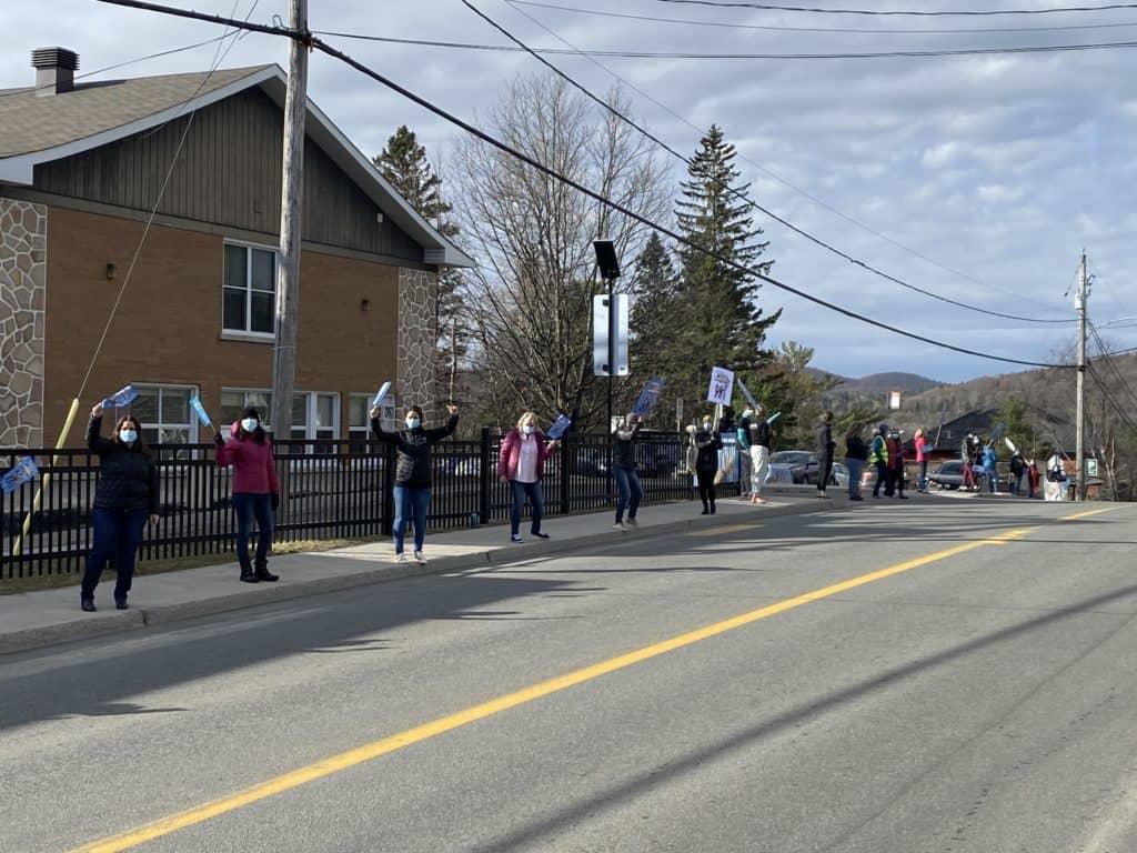 Grève matinale pour les enseignants